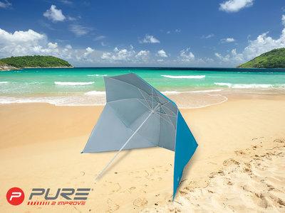 Purebrella - Strandparasol Light Blue