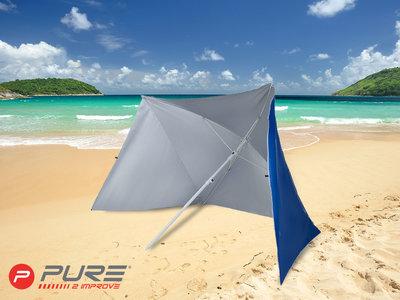 Purebrella - Strandparasol Dark Blue 170