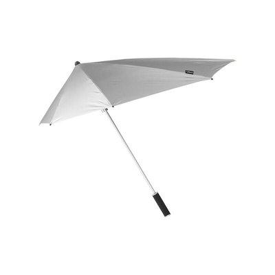 Aërodynamische Stormparaplu Zilver