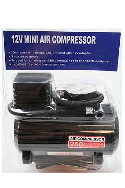 Elektrische 12V luchtpomp Mini Air Compressor