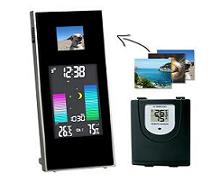 433-MHz weerstation inclusief foto-viewer 975464